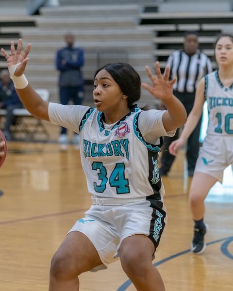 2019-02-01 Western Branch v Hickory Girls JV Basketball