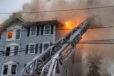 Olive St. 2nd Alarm Fire (Bridgeport, CT) 5/30/21
