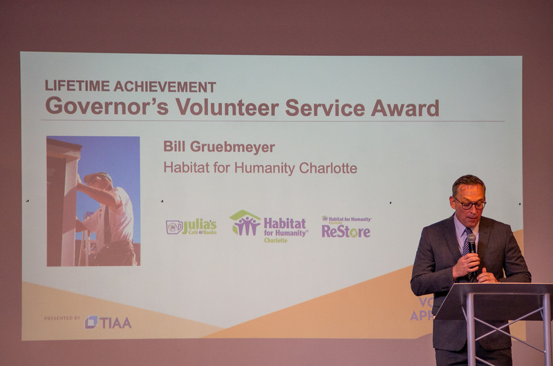 Dad's Governor's Volunteer Service Award