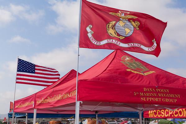 5th Marines Luau Party at Del Mar Beach