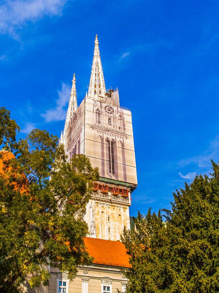 克罗地亚首都萨格勒布(Zagreb),顶的艺术