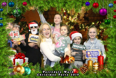 Perrydale Ward Christmas Photobooth 12.13.2019