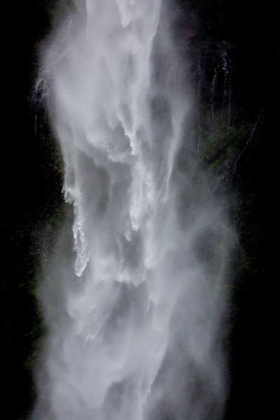 Detail of Horsetail Waterfall, Oregon