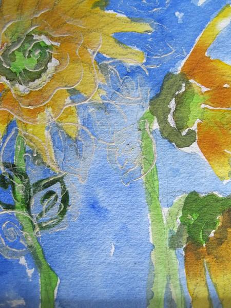 #11 Sunflower Swirls