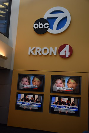 San Francisco visit and KRON TV tour
