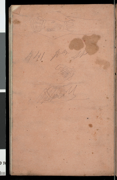 Account book/diary of Benjamin Bennett Briggs, 1862