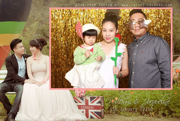 William + Jacqueline Photobooth