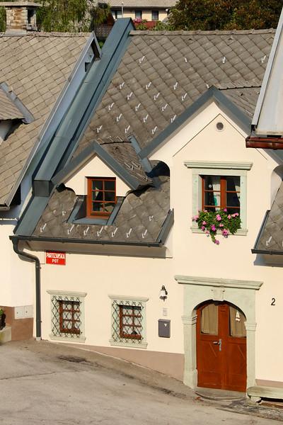 The town of Radovljica, Slovenia
