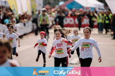 Cursa Fete 6-8 Ani - Semimaraton Iasi 2019