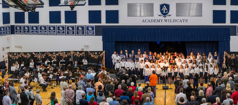 Academy at the Lakes Winter Concert - Dec. 7, 2017