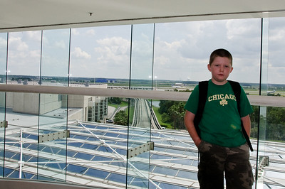 Connor and Dad's Trip to the Space Shuttle Launch July 10 - 14