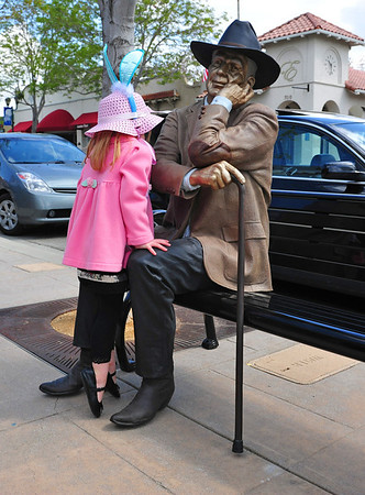 Seward Johnson Sculpture Exhibit