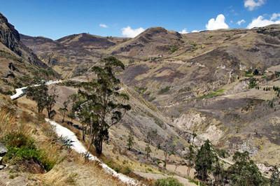 Slideshow - Alausi, Ecuador Nariz del Diablo Train Ride 2011