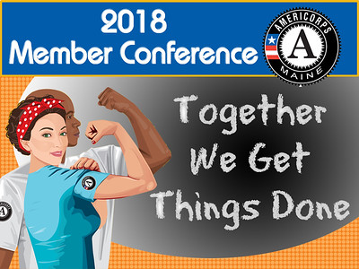 2018 Maine AmeriCorps Member Conference