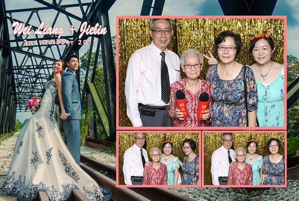 Wei Liang + Jielin Photo Booth Album
