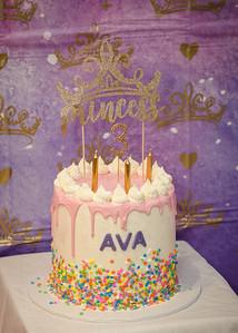 Ava's 3rd Birthday