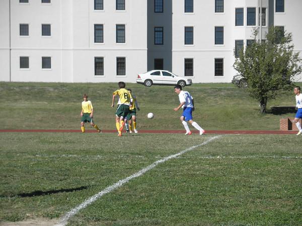 JV Soccer vs Collegiate