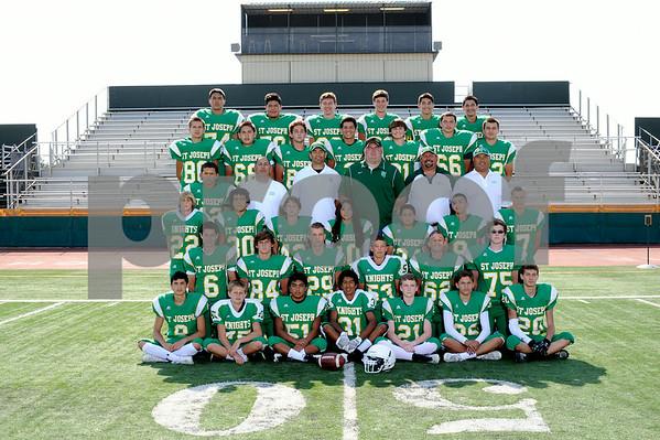 St. Joseph High School JV Football 2014