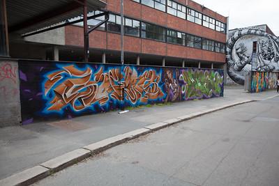 Grafitti in Oslo