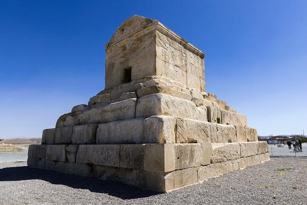 Pasargadae, Cyrus the Great