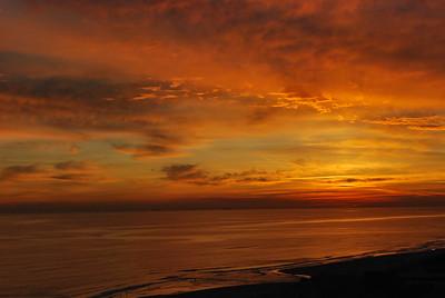 Sunsets at Beach - Dana's Condos