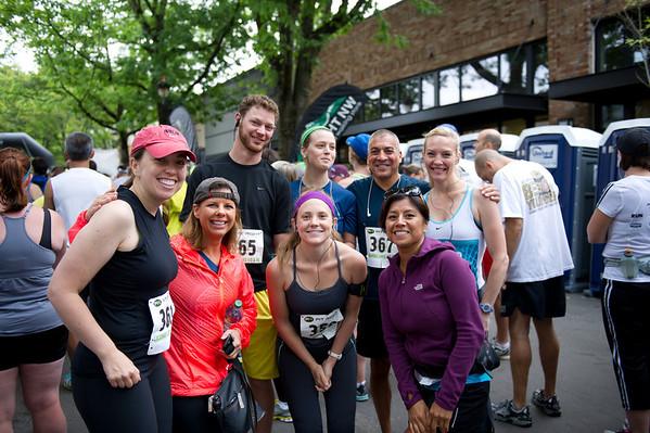 Lacamas half Maraton 7-28-13