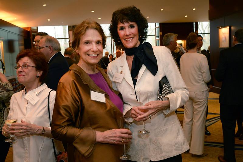 Dinner Silver Benefactors Judith Avery of San Francisco, Calif., and Barbara Jordan of Wayland, Mass.