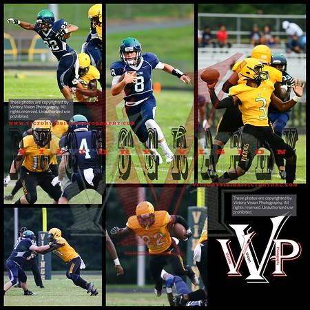 South County @ Woodbridge Varsity Boys Football 8-17-18 | Scrimmage