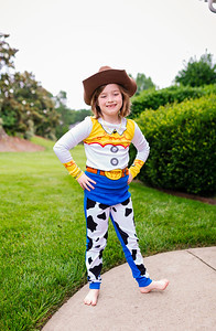 2020 June Madeline as Toy Story Jessie