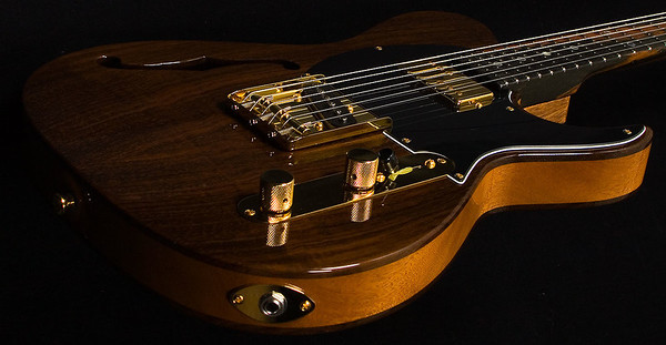 Reserve Retro Classic Hollow T, Brazillian Rosewood, TH Pickups