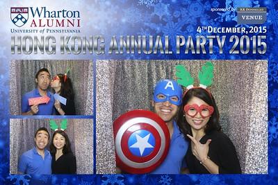 Wharton Alumni HK Annual Party 04 Dec 2015