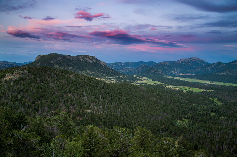 Summer Night from Trail Ridge Road