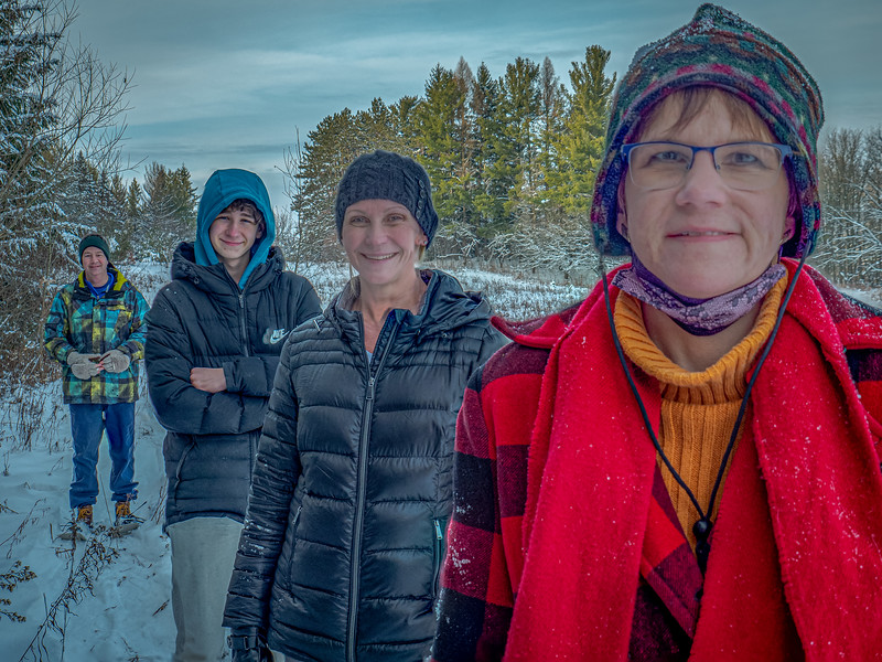 Snowshoeing Family Style