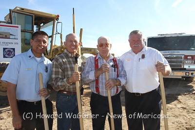 Groundbreaking for MFD 575 11-8-2012