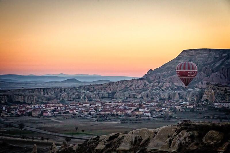Balloon ride in capadoccia