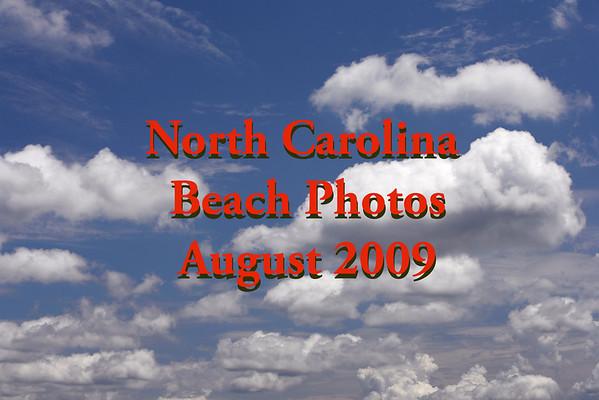 North Carolina Beach - August 2009