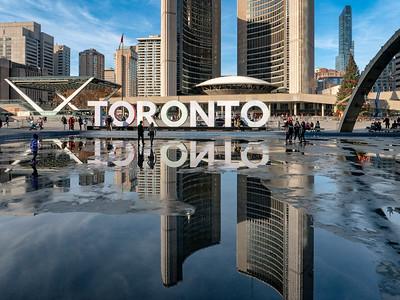 A November Day In Toronto