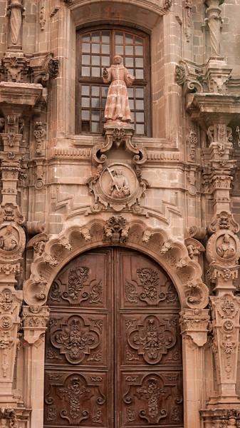 A beautiful ornate door