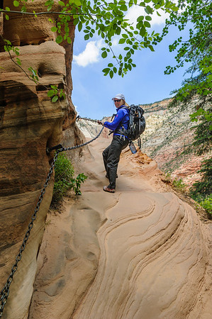 Canyoneering Telephone canyon, a Zion Memorial Day adventure