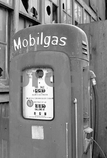 An abandoned gas pump in Oakville, WA.