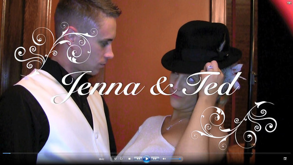 Jenna & Ted Wedding Photo Booth Hidden Video