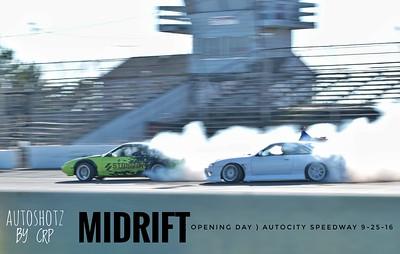 MiDrift Opening day Autocity Speedway