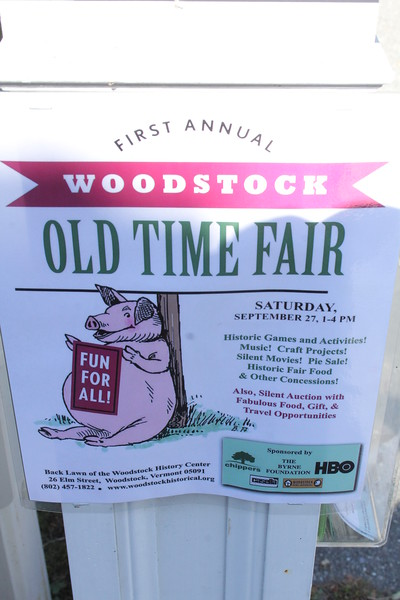 Old Time Fair, WHC