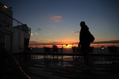 Day at Sea Nov 8