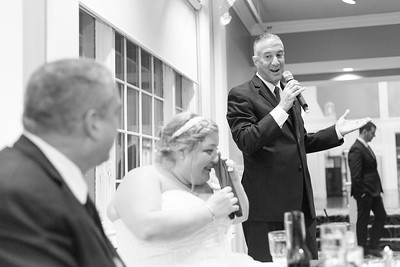 Best Man Speech Reception- Mary Leavy Michael Griffin Wedding Bride Groom Portrait Candid Photojournism Photojournalistic Photographer New England Massachusetts Westfield West Springfield Western Mass Connecticut Springfield Country Club Kimberly Hatch Ph