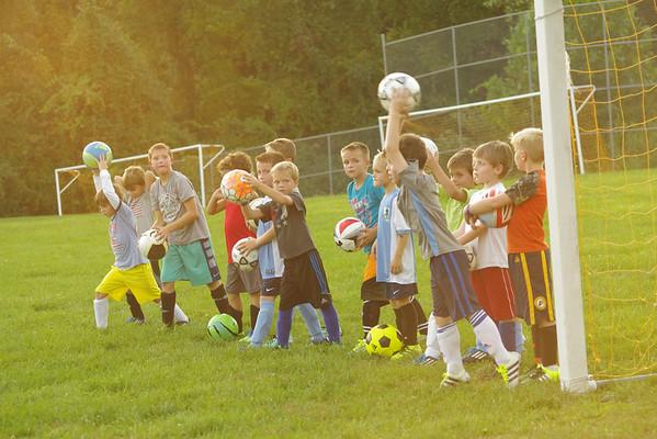 KDS Soccer Practice 9-22