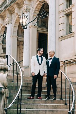 Antonio and Jonathan : Married
