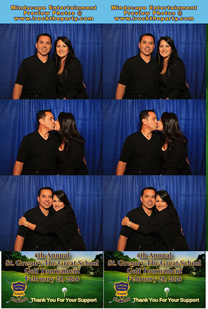 St. Gregory The Great School Golf Tournament - Photo Booth Pictures