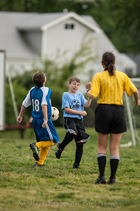 2012 Holy Family Soccer vs St. Anthonys