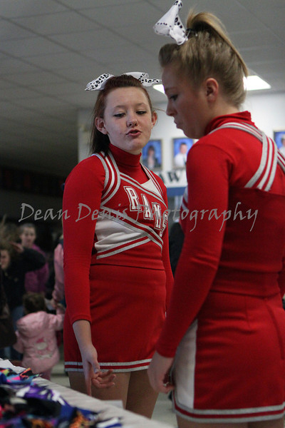 Paws for a Cause Cheerleading competition